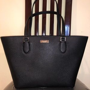 Kate Spade Structured Leather Tote